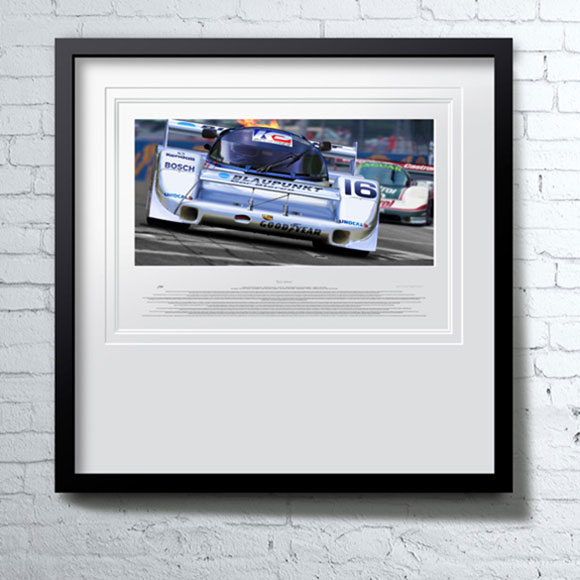 &quot;1988 Miami GP&quot;<span>original oil on linen</span>
